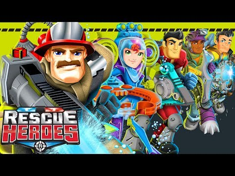 Rescue Heroes™ - Theme Song | Songs For Kids | Cartoons For Kids | Fisher-Price