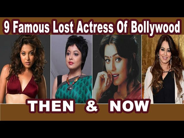 9 Famous Lost Actress Of Bollywood THEN & NOW 2018 ये Unbelievable Transformation देख चौंक जायेंगे  