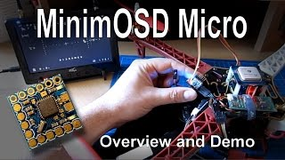 MinimOSD Micro - Overview and Demonstration (KV Team mods)