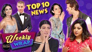Alok Nath & Sajid Khan ACCUSED, Kangana Accuses Hrithik, Priyanka Nick Wedding & More | Top 10 News