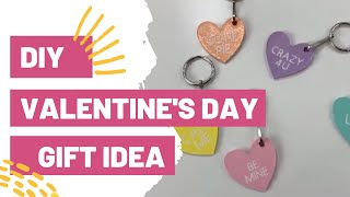 DIY VALENTINE'S DAY GIFT IDEA WITH YOUR CRICUT!