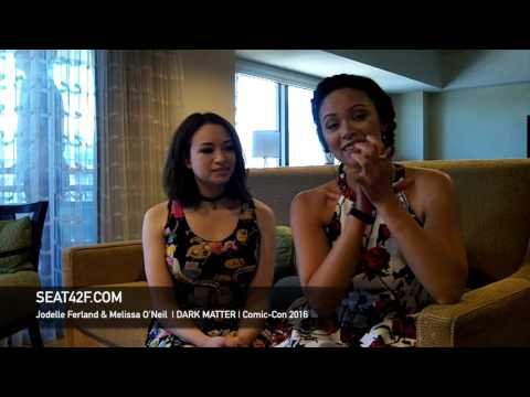 Jodelle Ferland & Melissa O'Neil DARK MATTER Interview Comic Con 2016