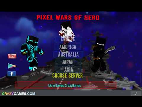 Pixel Wars Of Hero WebGl Playthrough  CrazyGames