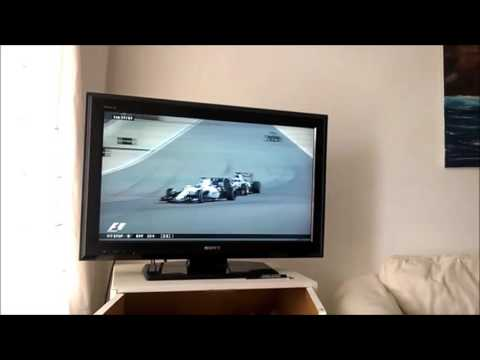 F1 2016 Bahrain GP from my living room