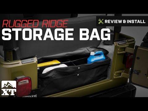Jeep Wrangler Rugged Ridge Storage Bag Review & Install