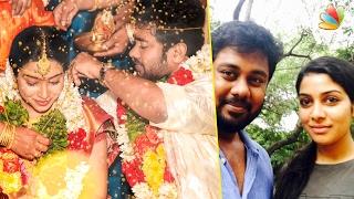 Pichaikkaran actress finally got married | Satna Titus Marriage