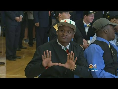 Local Athletes Living Out Their Dreams On National Signing Day