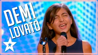 Kid Sings AMAZING Demi Lovato COVER on Malta's Got Talent 2020 | Kids Got Talent