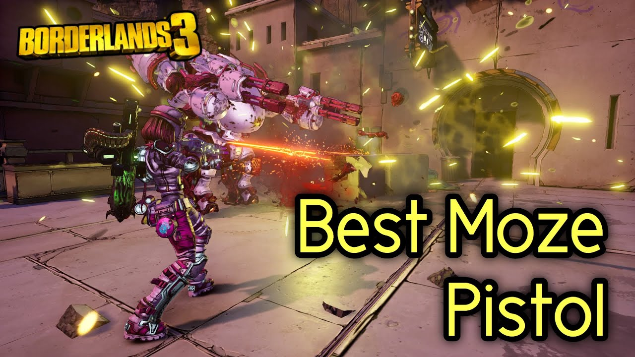 You Have To Add This Pistol to Your Moze Build! - Borderlands 3