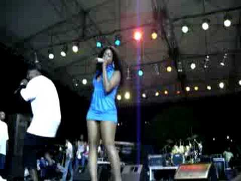 Trina Live Performance At VI Summa Splash 08