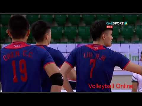 Pakistan Vs Chinese Taipei Volleyball Match 2018 Fivb World Challenger Qualification In Kazakhstan