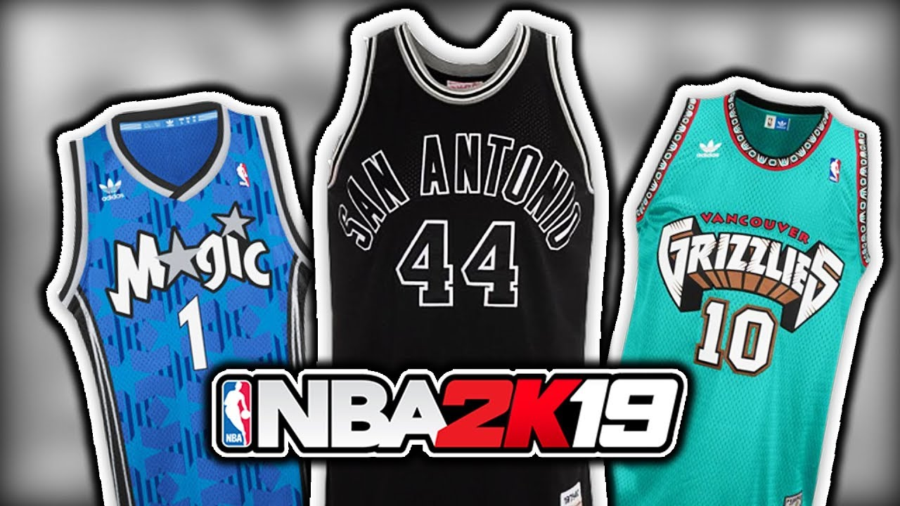 b76b73c1bf3 Every Teams Jersey That NEEDS To Be Added In NBA 2K19 - YouTube