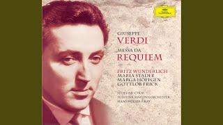 Verdi: Messa da Requiem / Libera me - Libera me