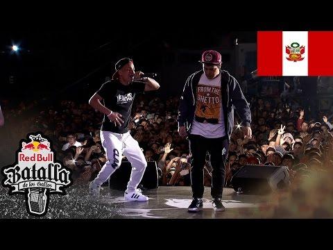 HAMPPER vs STARKING - Octavos: Final Nacional Perú 2016 - Red Bull Batalla de los Gallos