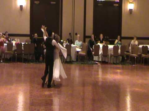 "Yeva and Toni dancing Viennese Walts ( Y. Doga ""My Sweet and Tender Beast"")"