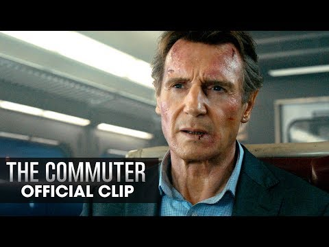 """The Commuter (2018 Movie) Official Clip """"Hand Me The Phone"""" – Liam Neeson"""
