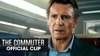 "The Commuter (2018 Movie) Official Clip ""Hand Me The Phone"" – Liam Neeson"