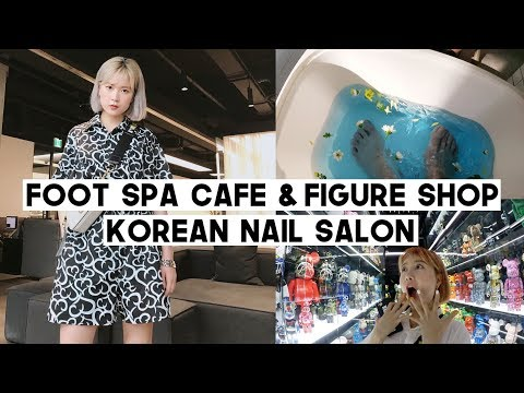 DTV.03: Foot Spa Cafe You MUST Visit, Korean Nail Salon, Instagramable Figure Shop | Q2HAN