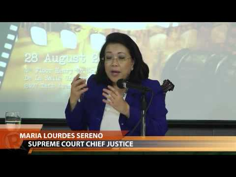GMA7's Severino asks Sereno about relationship w/ fellow justices