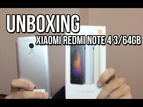 [Unboxing] XiaoMi Redmi Note 4 - 3/64GB - Assismatica pt