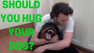 Ask A Professional Dog Trainer: Should You Hug Your Dog? Do Dogs Like Being Hugged?