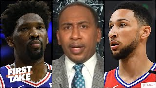 Stephen A.: 'There's ALWAYS something wrong with the 76ers' | First Take