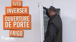 Comment inverser l'ouverture d'une porte de frigo ?