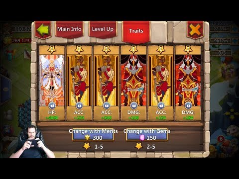 JT's Free 2 Play Augmenting Vlad Rolling Traits Castle Clash