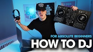 How to DJ for absolute beginners   Complete Guide to DJing on Pioneer DDJ-400 & Rekordbox in 2021 🔥