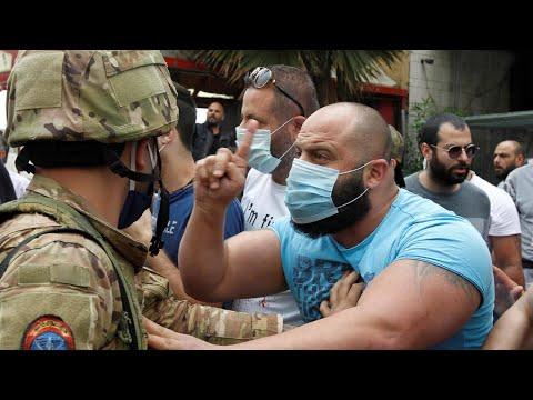 Liban : heurts à Tripoli entre l'armée et des manifestants