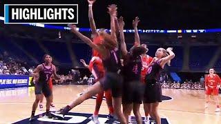 Highlights: Clemson at Penn State | B1G Women's Basketball | Nov. 21, 2019