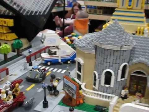 My Largest Lego Display Yet - at Brickworld 2013 - YouTube