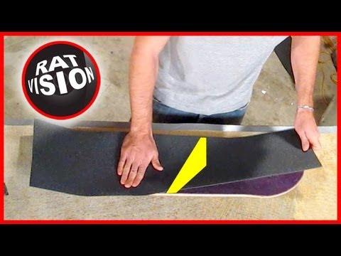 Put On Skateboard & Longboard Grip Tape CORRECTLY