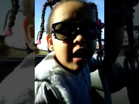 4 year old girl singing (Close your eyes by Peaches and herb)!!!!!