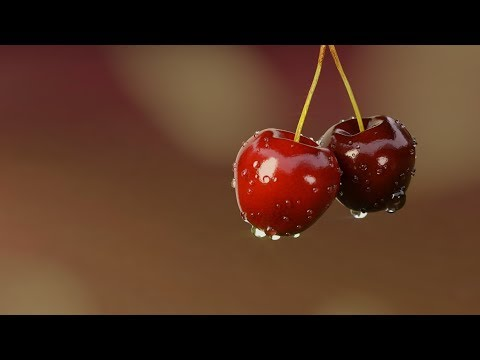 Create a pair of Cherries in Blender Cycles