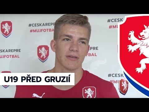 Euro U19: Český tým před zápasem s Gruzií (8. 7. 2017, Tbilisi)