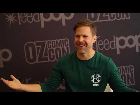 Matthew Davis talks The Vampire Diaries and The Originals  Pt 1  Oz Comic Con Sydney 2017