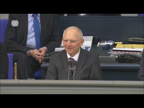 Berlin: Wolfgang Schäuble ist neuer Bundestagspräsident