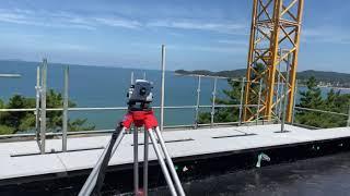 레벨 측정용 건축 망원경 성능