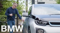 Public charging: How to charge the BMW i3 on the go. Explained by BMW i3 driver Lou.