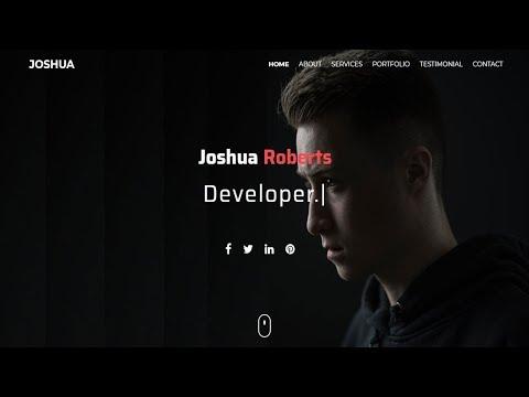 joshua---one-page-portfolio-html-template