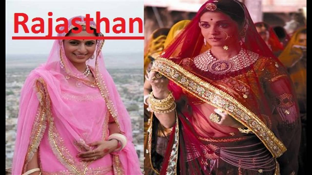 Indian Traditional Dresses Of Different States With Names Different Dresses In D...