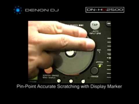DENON DN HD2500 USB PCDJ MEDIA CONTROLER