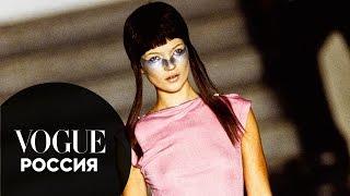 Сюрреалистические куклы на показе Alexander McQueen в 1997 году