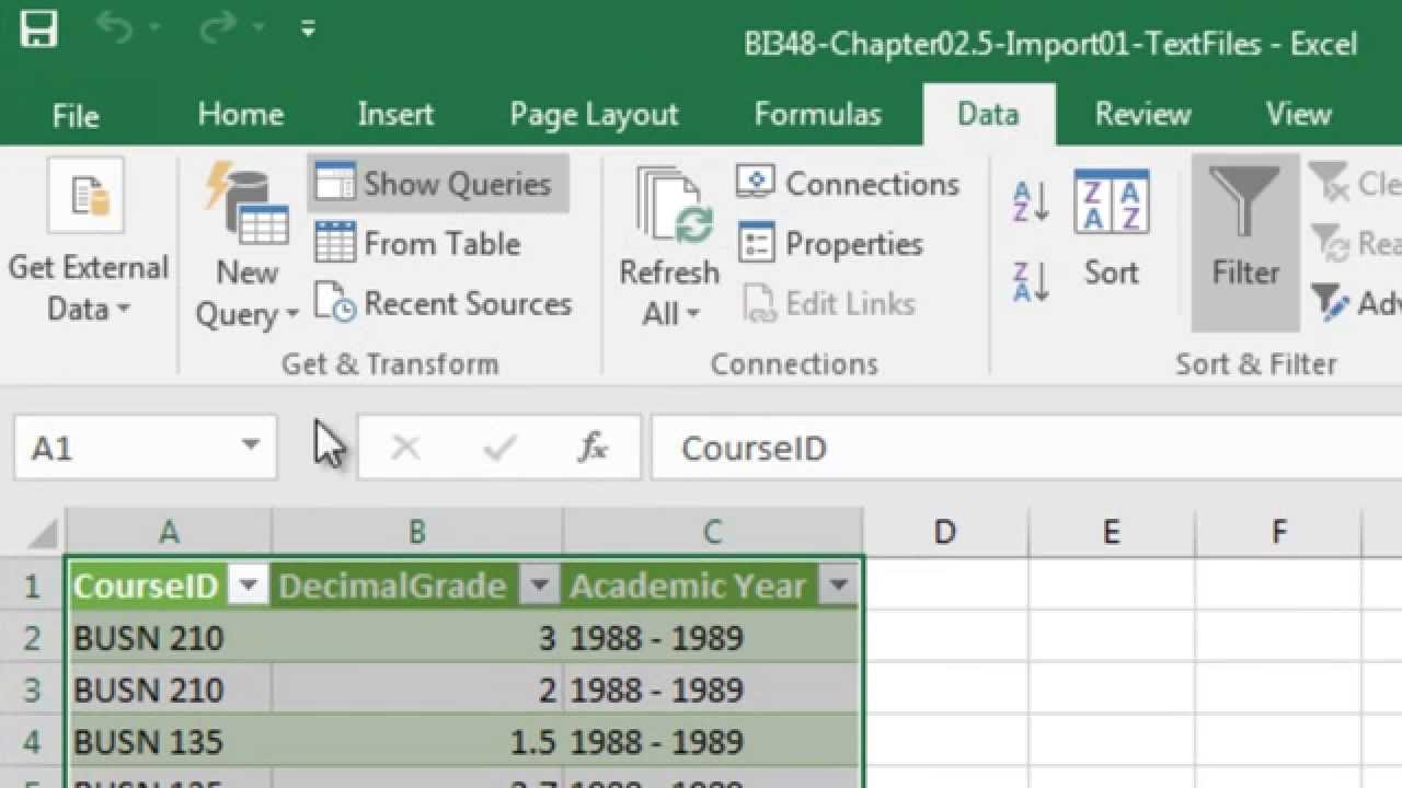 Ediblewildsus  Sweet Basic Excel Business Analytics  Excel  Power Query Data  With Fetching Basic Excel Business Analytics  Excel  Power Query Data Ribbon Tab Get And Transform With Endearing How To Make A Formula On Excel Also Else Statement Excel In Addition Import Pdf Table Into Excel And Gridview Export To Excel As Well As Amazing Excel Spreadsheets Additionally Excel To From Youtubecom With Ediblewildsus  Fetching Basic Excel Business Analytics  Excel  Power Query Data  With Endearing Basic Excel Business Analytics  Excel  Power Query Data Ribbon Tab Get And Transform And Sweet How To Make A Formula On Excel Also Else Statement Excel In Addition Import Pdf Table Into Excel From Youtubecom