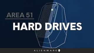 Hard Drive or Solid State Drive Replacement on the Alienware Area-51