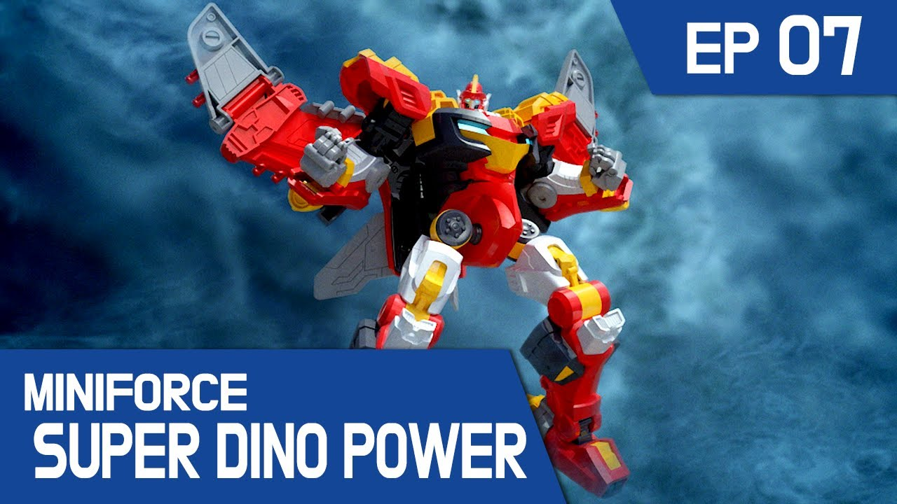 [MINIFORCE Super Dino Power] Ep.07: Ptera Sky To The Rescue!