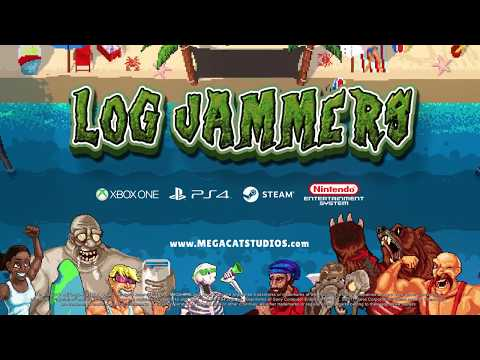 Log Jammers Upmake - PC/Console Trailer - Mega Cat Studios Video Game