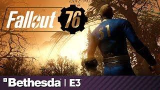 Fallout 76 Full Presentation and Battle Royale Reveal   Bethesda E3 2019