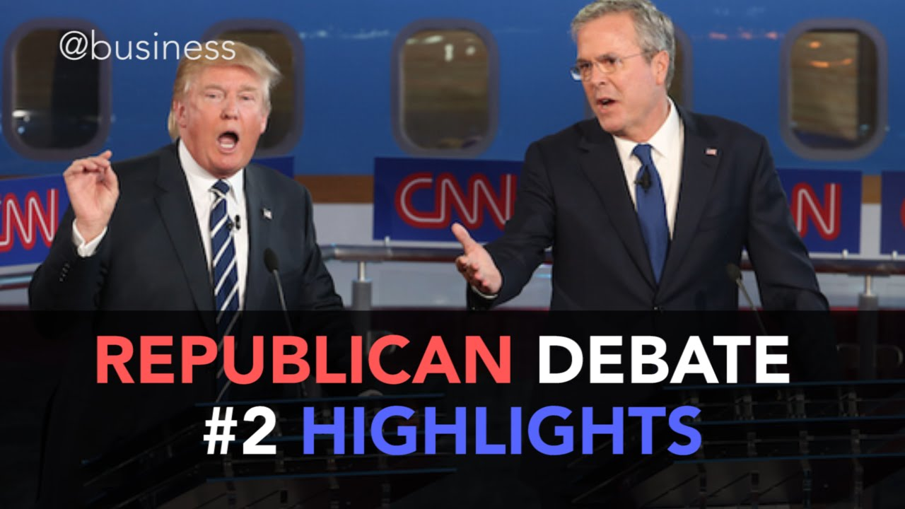 Republican CNN Debate Highlights - YouTube